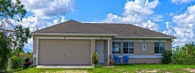 Golden Gate Estates Single Family Home For Sale: 3224 NE 33rd Ave
