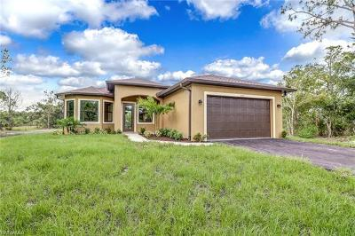 Golden Gate Estates Single Family Home For Sale: 3805 NE 45th Ave