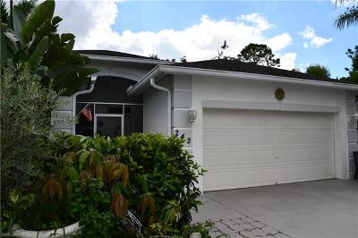 Naples Single Family Home For Sale: 242 Stanhope Cir