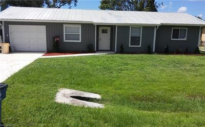 Fort Myers Single Family Home For Sale: 18566 Rosewood Rd