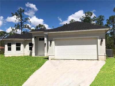 Golden Gate Estates Single Family Home For Sale: 3491 NE 8th Ave