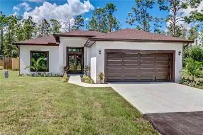 Golden Gate Estates Single Family Home For Sale: 4471 NE 14th St
