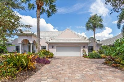 Naples Single Family Home For Sale: 713 Pine Creek Ln