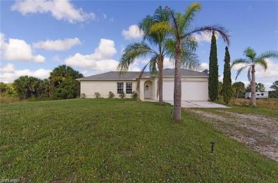 Golden Gate Estates Single Family Home For Sale: 3321 NE 24th Ave