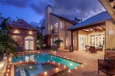 Naples Single Family Home For Sale: 1419 Hemingway Pl