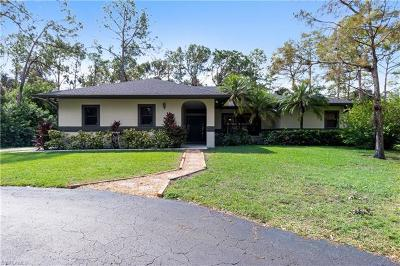 Golden Gate Estates Single Family Home For Sale: 3760 SW 3rd Ave