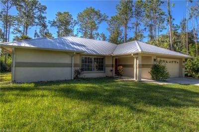 Naples Single Family Home For Sale: 4630 SW 1st Ave