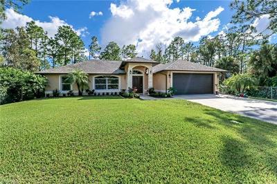 Naples Single Family Home For Sale: 3986 NE 31st Ave