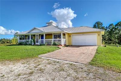 Naples Single Family Home For Sale: 2344 NE 60th Ave