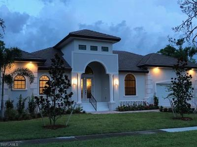 Naples Single Family Home For Sale: 8980 Lely Island Cir