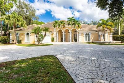 Naples Single Family Home For Sale: 6872 Trail Blvd
