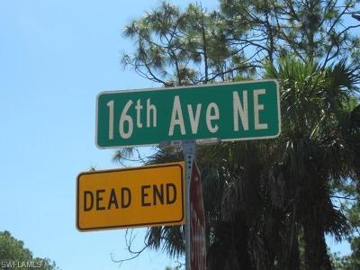 Naples Residential Lots & Land For Sale: 00 NE 16th Ave