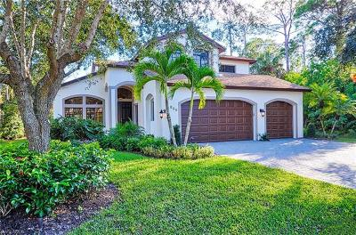 Naples Single Family Home For Sale: 536 Carpenter Ct