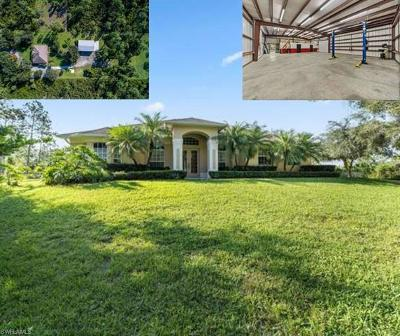 Golden Gate Estates Single Family Home For Sale: 690 NE 24th Ave