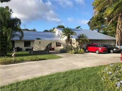 Naples Single Family Home For Sale: 883 Cassena Rd