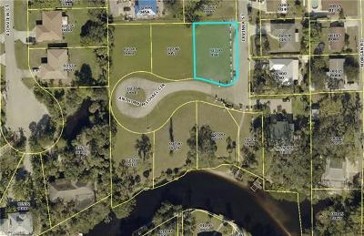 Bonita Springs Residential Lots & Land For Sale: 10021 Anthony Michael Cir