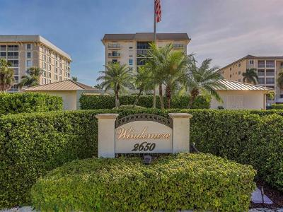 Condo/Townhouse For Sale: 2650 N Gulf Shore Blvd #101