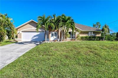 Cape Coral Single Family Home For Sale: 3107 NW 19th Ter