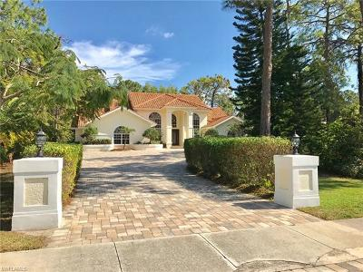 Naples Single Family Home For Sale: 9180 The Ln