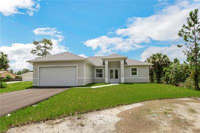 Golden Gate Estates Single Family Home For Sale: 543 SE 20th St