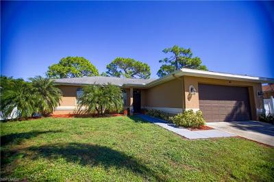 Fort Myers Single Family Home For Sale: 18537 Violet Rd
