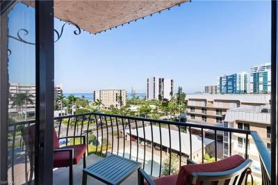 Condo/Townhouse For Sale: 3430 N Gulf Shore Blvd #6J