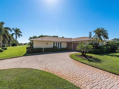 Naples Single Family Home For Sale: 398 Bay Meadows Dr