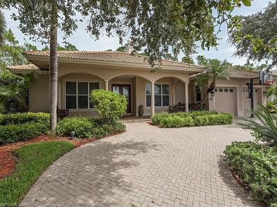 Naples Single Family Home For Sale: 3879 Midshore Dr