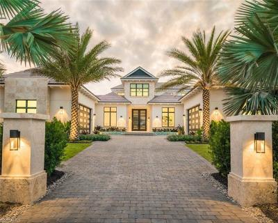 Naples FL Single Family Home For Sale: $10,975,000