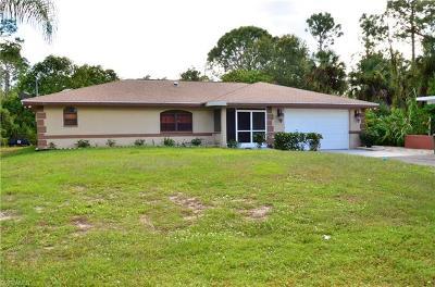 Golden Gate Estates Single Family Home For Sale: 690 NE 22nd Ave
