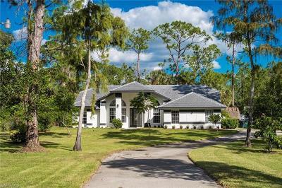 Naples Single Family Home For Sale: 1370 N Wilson Blvd