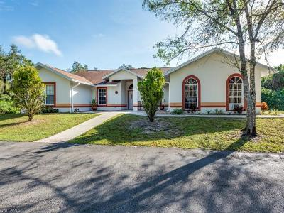 Golden Gate Estates Single Family Home For Sale: 648 NW 15th St
