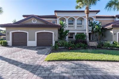 Naples Single Family Home For Sale: 1276 Strada Milan Ln #2