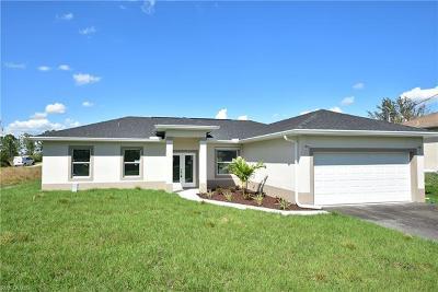 Golden Gate Estates Single Family Home For Sale: 4247 NE 54th Ave