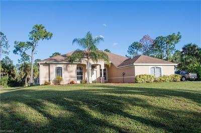 Naples Single Family Home For Sale: 640 NW 21st St