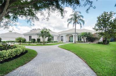 Naples Single Family Home For Sale: 4655 Oak Leaf Dr