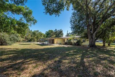 Fort Myers Single Family Home For Sale: 3247 Marion St