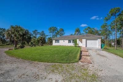 Golden Gate Estates Single Family Home For Sale: 4225 NE 16th St