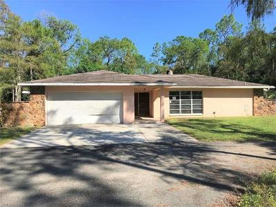 Golden Gate Estates Single Family Home For Sale: 3355 SW 23rd Ave