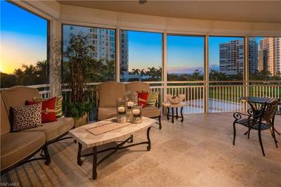 Collier County Condo/Townhouse For Sale: 4151 N Gulf Shore Blvd #402