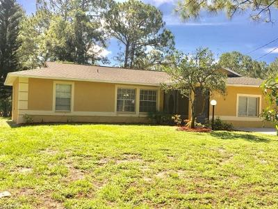 Golden Gate Estates Single Family Home For Sale: 570 SE 16th St
