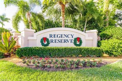 Naples Condo/Townhouse For Sale: 848 Regency Reserve Ct #2-201