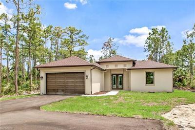 Golden Gate Estates Single Family Home For Sale: 3310 NE 41st Ave