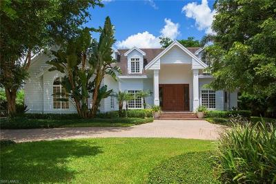 Naples FL Single Family Home For Sale: $4,375,000