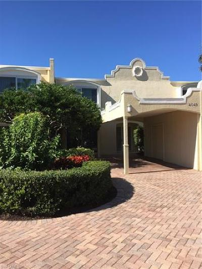 Naples Condo/Townhouse For Sale: 4049 Crayton Rd #4049
