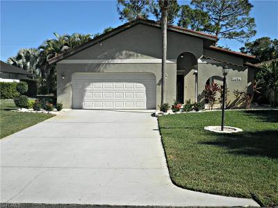 Bonita Springs Single Family Home For Sale: 26896 Spanish Gardens Dr