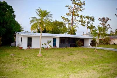 Fort Myers Single Family Home For Sale: 2113 Dover Ave