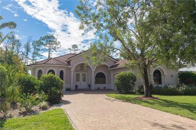 Naples Single Family Home For Sale: 714 Pine Crest Ln