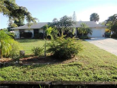 Naples Single Family Home For Sale: 5350 Myrtle Ln