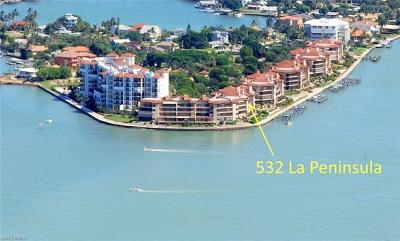Naples Condo/Townhouse For Sale: 532 La Peninsula Blvd